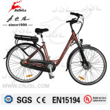 250W Brushless Motor 36V Lithium Battery Electric Bicycle (JSL036G)