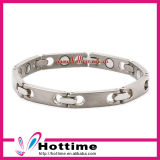 Unique Design Popular Energy Bracelet for Silver Stainless Steel