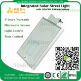 Factory Direct IP65 Bridgelux 20W Solar LED Street Light System Price