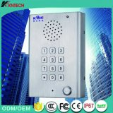 Hands-Free Call Rugged Stainless Steel Phone Knzd-29