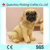 Creative Design Cheap Polyresin Dog Coin Bank for Sale