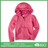Top Quality Pink Fleece Jacket for Girls