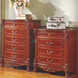 Wood Drawer Chest for Bedroom Furniture (859)