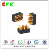 Double Row SMD 8pin Pogo Connector with Plastic Holder