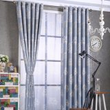 Country Style Decorative Blackout Curtain Fabric