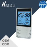 Multifunction Indoor Weather Station Clock with Temperature Trend and Humidity