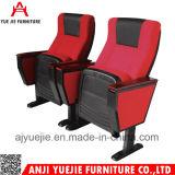 Fabric Material Aluminum Base Auditorium Chair Yj1011
