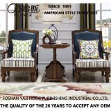 High Quality Home Furniture Solid Wood Lounge Chair (AS823)