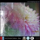 Eg Acid Etched Paint Coated Decorative Art Glass