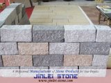Natural Square Shape Colorful Cobble/Paving Stone on Mesh for Exterior Garden Landscape and Patio