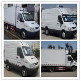 2-4t Refrigerator Truck Iveco Refrigerator Truck Mini Van Refrigerator