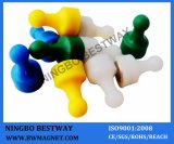 Magnetic Holding Pegs(yellow,blue,green,white)