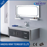Classic Type Stainless Steel Bathroom Vanity Cabinet with Mirror