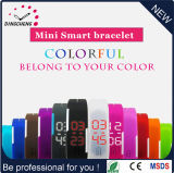 High Quality Silicone Rubber Wristband LED Watch (DC-609)