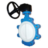 Lug Type Concentric Butterfly Valve with Teflon Seat and Disc