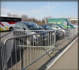 Galvanized Steel Traffic Barrier/Crowd Control Barrier for Events