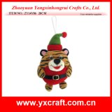 Christmas Decoration (ZY14Y06 20CM) Christmas Tiger Toy