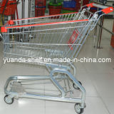 Supermarket Foldable Shopping Trolleys Cart with Seats