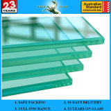 3-19mm Laminated Glass, Bulletproof Glass Price Tempered Glass with AS/NZS2208: 1996