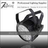 Quad LED 18X12W PAR 64 Spotlight with IP65 Waterproof Rating Silence for Theater, TV Studio
