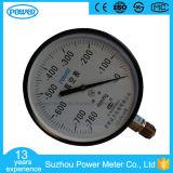 150mm Black Steel Case Bottom Thread Type Vacuum Pressure Gauge