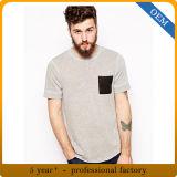 Custom Mens Cheap Pocket T Shirts