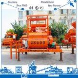 Hot Sale Js500 Double Spiral Belt Continuous Electric Forced Concrete Mixing Mixer (25m3/h)