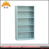 Single Side Library Bookcase with Four Adjustable Shelves