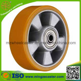 European Type Good Polyurethane on Aluminium Core Caster Wheel