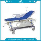 AG-Hs002 ABS Handrill Hospital Manual Transfer Stretcher