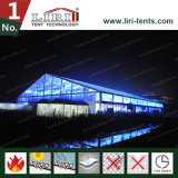 Wedding Tent for 1000 Guest Large Clear Span with Glass Door and Window