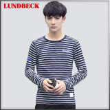 2016 Stripe Long Sleeve T-Shirt Shirt for Men
