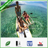 Family Wilderness Touring Clear Fishing Canoe Transparent Plastic PC Kayaks