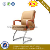 SGS Approved Office Furniture Wooden Arms Meeting Visitor Chair (NS-064C)