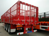 Fence Cargo Semi Trailers with Grid Box and New Lock