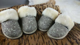 Genuine Australian Sheepskin Unisex Casual Home Shoes Indoor Slippers
