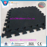 Outdoor Playground Puzzle Rubber Floor Mat, Rubber Tiles