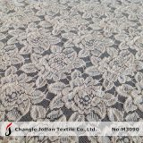 Thick Cotton Flower Lace Fabric for Garment (M3090)