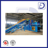Higy Capacity Semi-Automatic Straw Channel Baler