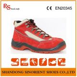 Breathable Lining Plastic Toe Cap Ladies Safety Shoes RS141