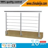 Ss304 316 Stainless Steel Stairs Balustrade and Handrail