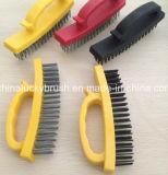 Plastic Holder Steel Wire Polishing Brush (YY-432)