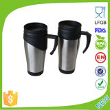 16oz Stainless Steel Inner, Plastic Outer Auto Mug Dn-032A