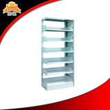 China Factory Best Price Library Furniture Metal Portable Book Shelf with Good Quality