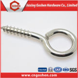 Ss304 Self Tapping Wood Hook Screw with Eye