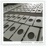Chinese White/ Grey/ Glass Chip Artificial Marble Quartz for Countertop and Floor Tile