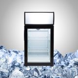 Small Beverage Fridge with Glass Door for Drink Promotion