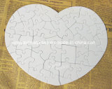 Heart Shape Pearl Paper Jigsaw Puzzle