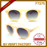 F7276 Jelly Color Round Plastic Frames Fashion Gafas Da Sol
