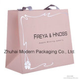 Wholesale Cheap Price Silver Hot Stamping Paper Bag with Handle